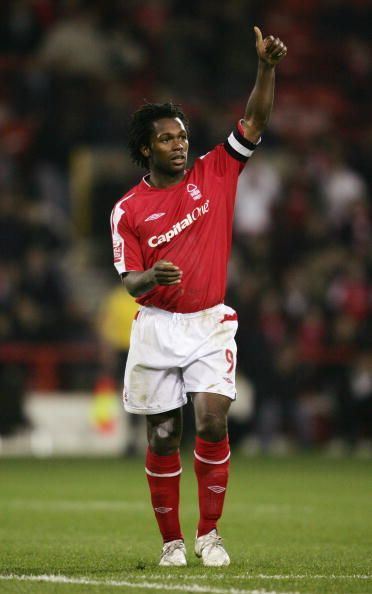 David Johnson of Nottingham Forest