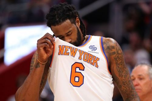 DeAndre Jordan was traded by the Mavericks to the Knicks