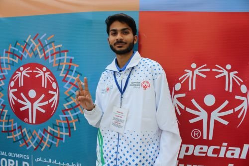 The mood is upbeat as Nitesh is focusing on his preparations for the World Games