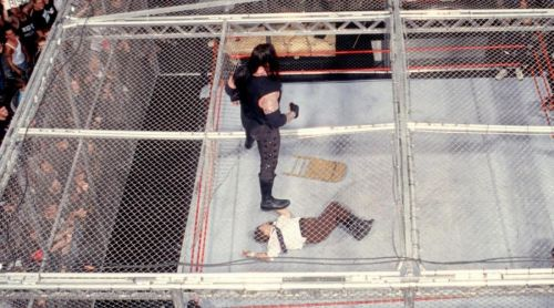 Mick Foley nearly died after competing inside Hell in a Cell.