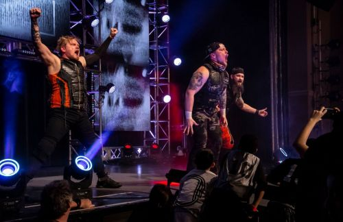 oVe kicked off Impact with a shocking and devastating bang