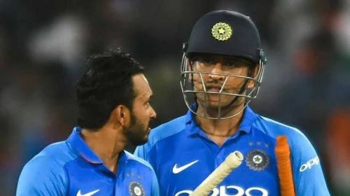 Jadhav and Dhoni played a key role in reviving India's fortunes.
