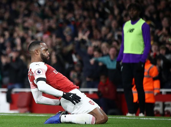 Quick feet, extraordinary body strength, and a clinical eye for goal - sums up Alexandre Lacazette