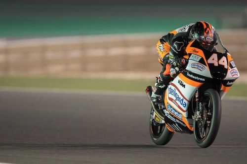 Aron Canet will start the Moto3 race from the pole position