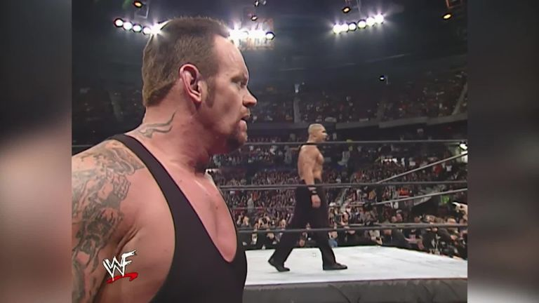 Maven eliminated The Undertaker from the 2002 Royal Rumble