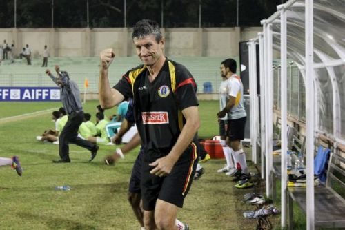 Trevor Morgan inspired East Bengal to finish second in 2010-11 I-League