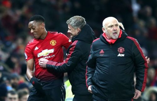 Anthony Martial will return from injury.