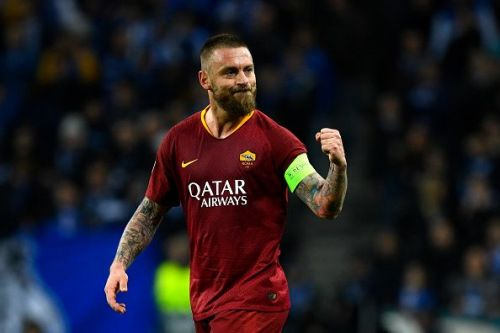De Rossi is fit and available for the Giallorossi