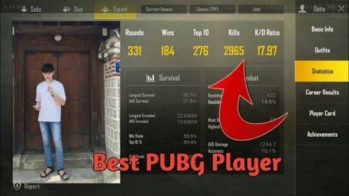 Pubg Mobile Best Pubg Players In The World Featuring Coffin Rrq
