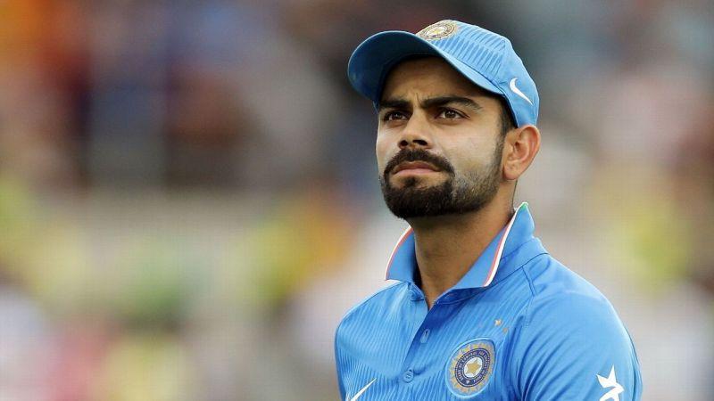 Virat Kohli - the Indian Skipper doesn