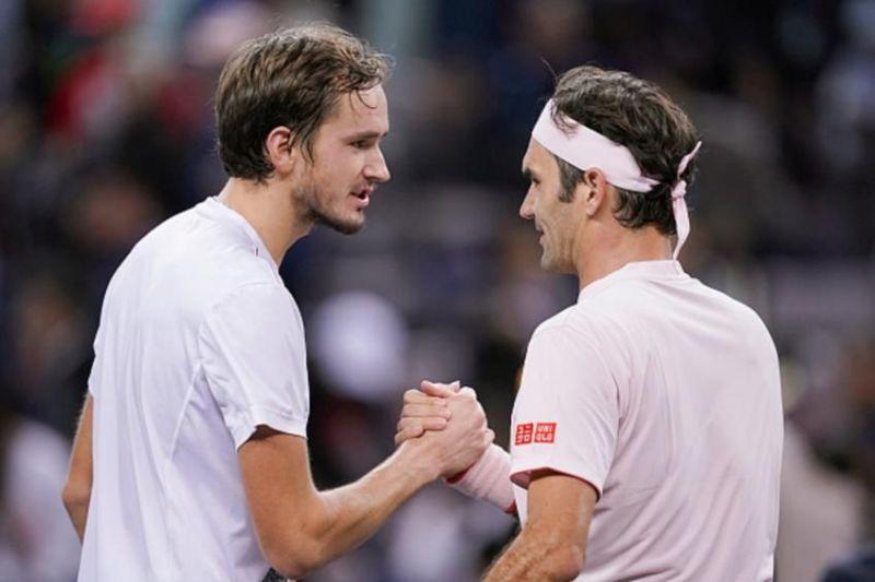 Miami Open 2019: Lacklustre Federer and spirited Medvedev to