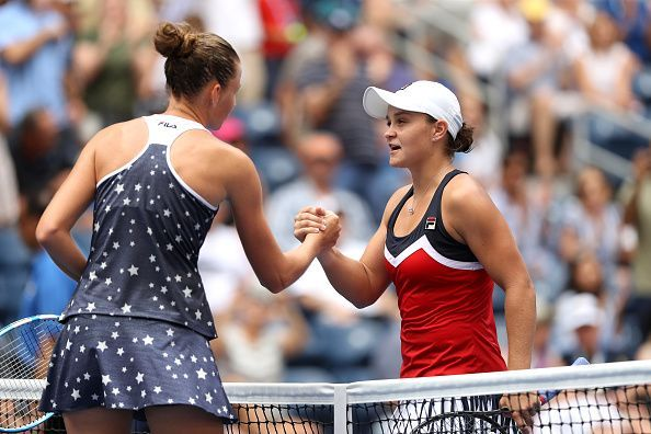 Pliskova and Barty had last met at 2018 US Open - Day 7