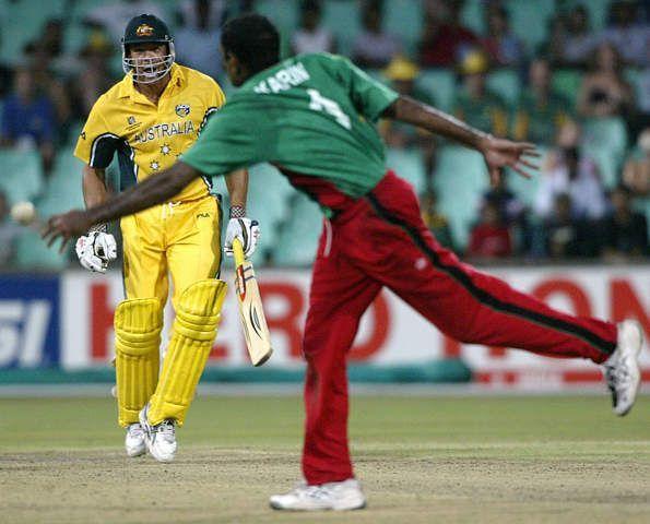Aasif Karim momentarily derailed the Aussie Express
