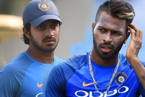 Vijay Shankar and Hardik Pandya are fighting for the seam all-rounder's spot