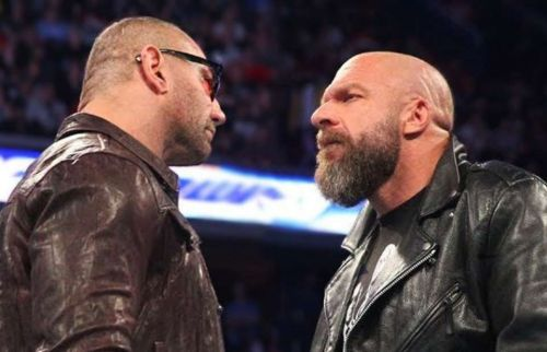 triple h and batista wrestlemania 35