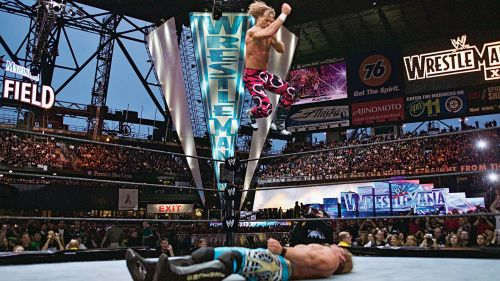 WrestleMania 19 had some great matches, iconic images ,and one spectacular crash and burn.