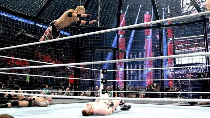 Christian in the Elimination Chamber