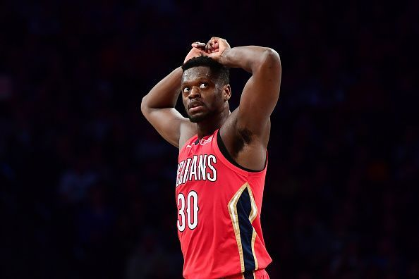 Julius Randle has previously spent time with the Lakers