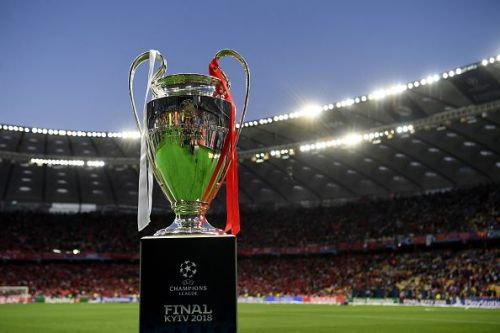 The UCL trophy is up for grabs