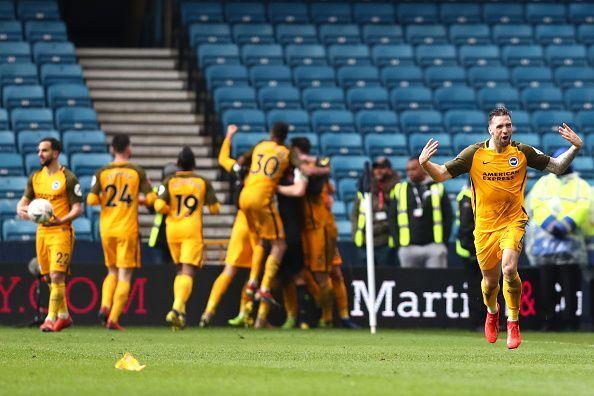 Millwall v Brighton and Hove Albion - FA Cup Quarter Final