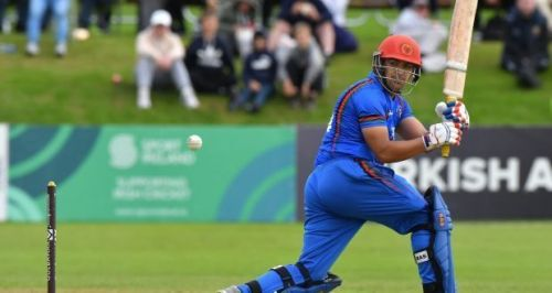 Zazai jumped to sixth place in the latest ICC T20 Rankings