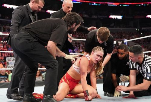After getting beaten up Charlotte Flair, Ronda Rousey was booed out of the arena at Survivor Series