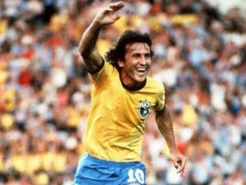 The Brazilian great never got his hands on the big golden trophy.