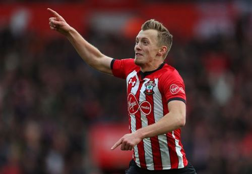 Southampton FC's James Ward-Prowse