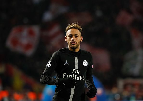 Neymar, laden with injuries, has been an integral part of PSG