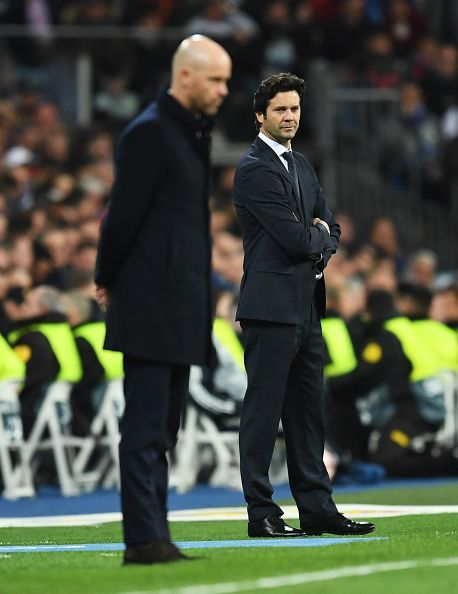 Solari looks out of his depth at the helm of the biggest club in World Football