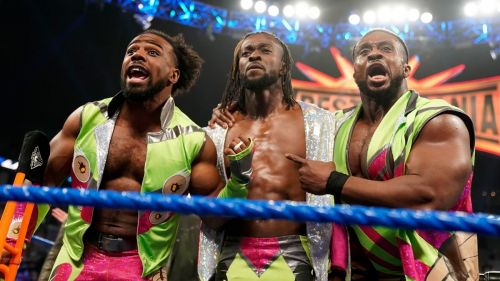 We caught up with The New Day for a chat