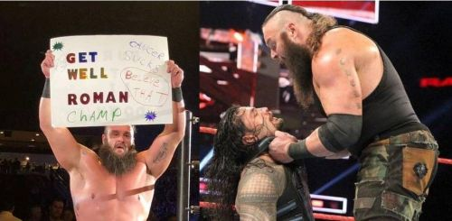 Braun Strowman and Roman Reigns are destined to clash once again