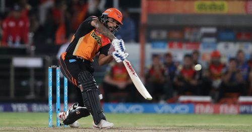 Shikhar Dhawan was in good touch for SRH