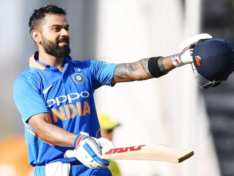 Virat Kohli now has seven ODI centuries vs Australia