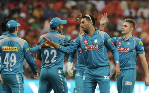 The Pune Warriors franchise didn't enjoy much success in its 3-year stint in the IPL.