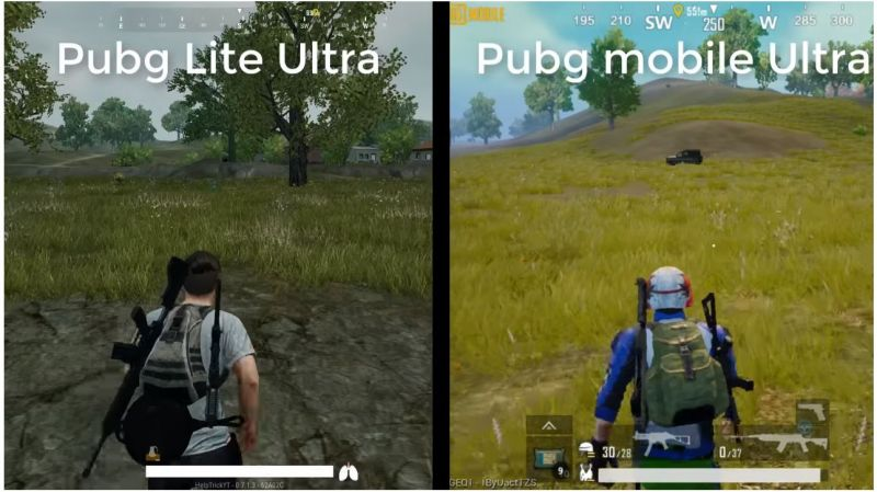 Pubg Lite PC and Pubg Mobile Graphics Comparison