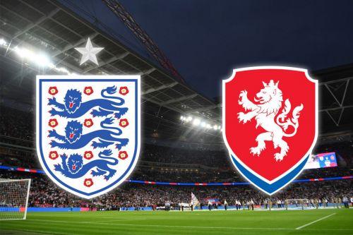 England vs the Czech Republic