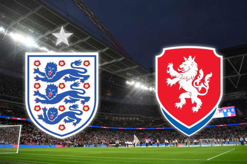 England vs the Czech Republic