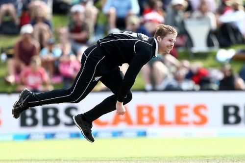 Ferguson is known for his deadly bouncers and the pace at which he bowls.