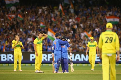 MS Dhoni and Kedar Jadhav played well against Australia in overseas series