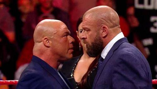 Kurt Angle and Triple H