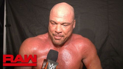 Kurt Angle bid farewell to his hometown on WWE RAW