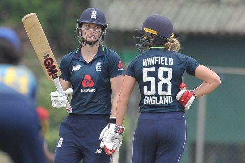 Lauren Winfield scored 80 runs in the practice match