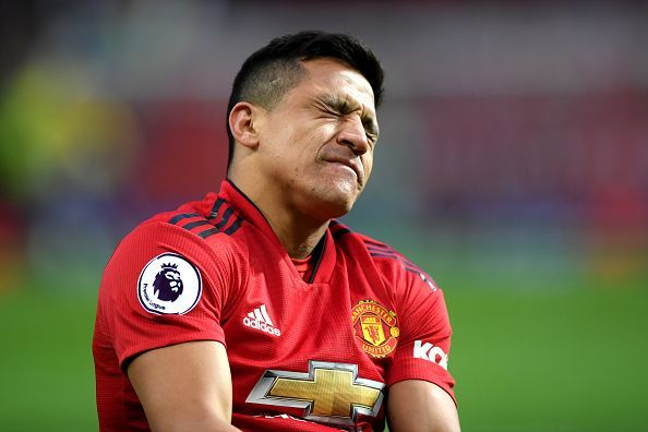 Alexis Sanchez has struggled for form in the Manchester United shirt