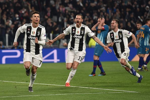 Juventus successfully eliminated Atletico Madrid