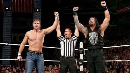Roman Reigns and Dean Amrose should become the RAW Tag Team Champions