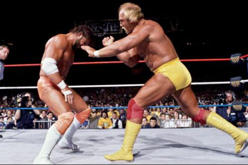 The Mega Powers exploded at WrestleMania 5 in 1989.