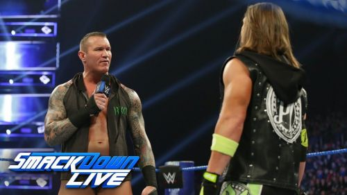 Orton completely ripped on AJ