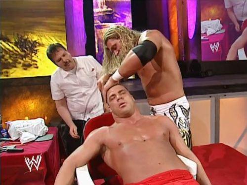 Edge shaving Angle bald
