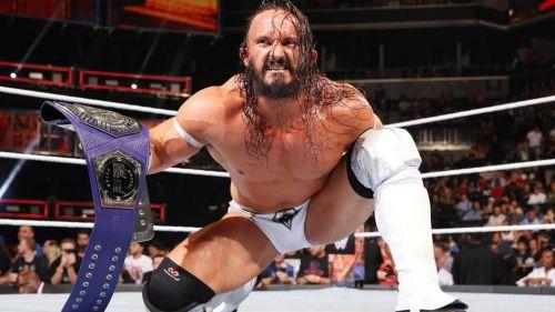 Neville's mean-streak helped him capture the Cruiserweight Championship in 2017.